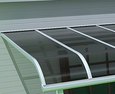 DIY Polycarbonate Awning